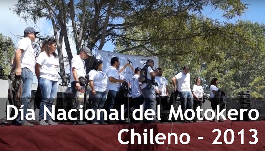 Día Nacional del Motokero Chileno 2013 #DNMC