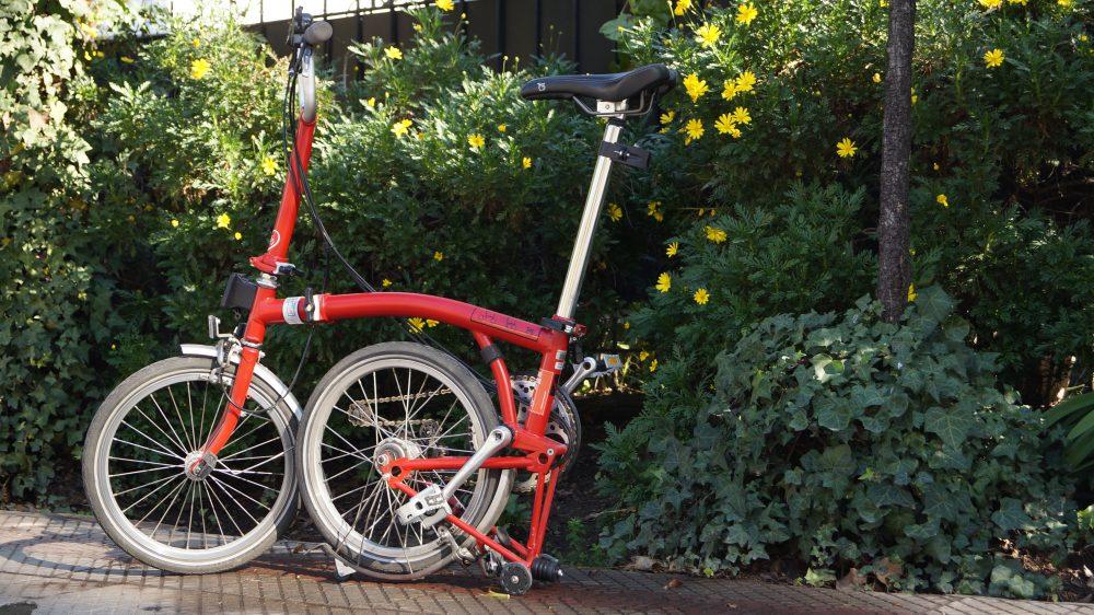 VENDIDA — mi Bicicleta Plegable Brompton M6L