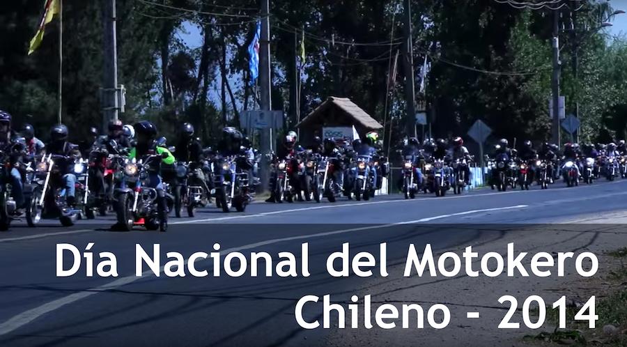 Día Nacional del Motokero Chileno 2014 #DNMC