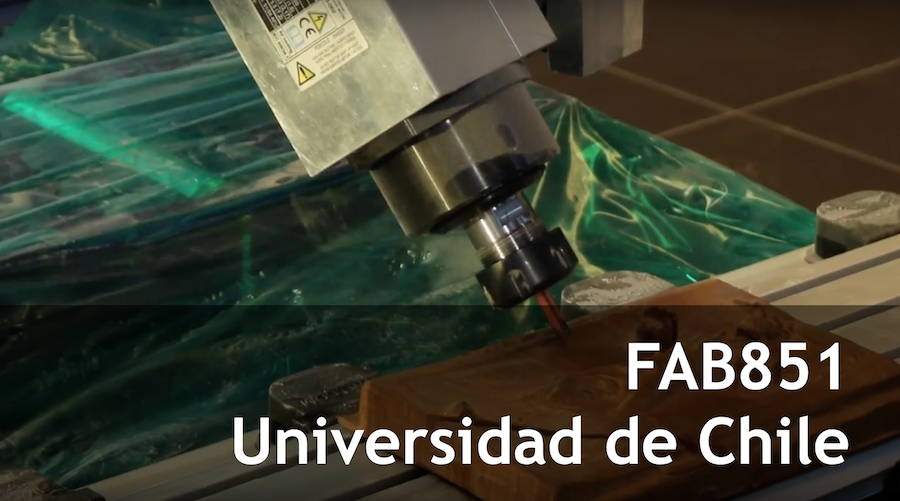 Fablab de la Universidad de Chile #FAB851
