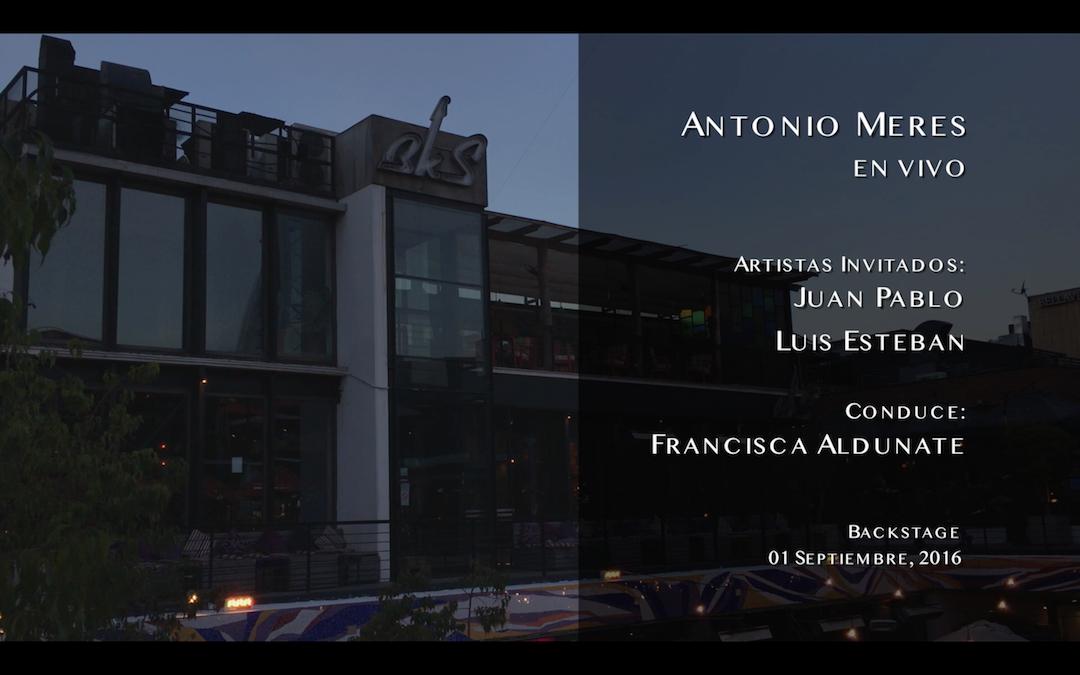 Antonio Meres y talento Chileno Septiembre 01 2016, resumen